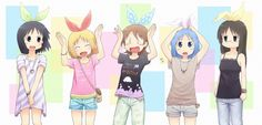 Anime Nichijou  Wallpaper