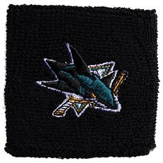 "Franklin Sports NHL 2.5"" Embroidered Wristbands - San Jose Sharks  http://allstarsportsfan.com/product/franklin-sports-nhl-2-5-embroidered-wristbands/?attribute_pa_teamname=san-jose-sharks  2.5 inch wristband pair pack with Authentic embroidered team logos Washable Terry/Acrylic blend Osfa official NHL team colors and logo"
