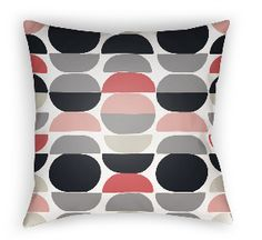 20 Moderne Pillow in Gray Dots