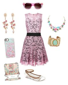 """""""spring contest entry"""" by odscene on Polyvore featuring Casetify, WithChic, Dolce&Gabbana, Fendi, Call it SPRING, Menu and ZeroUV"""