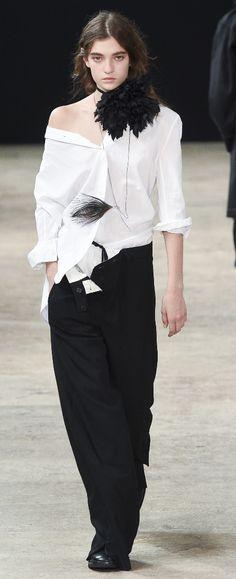 Ann Demeulemeester Spring 2018 Menswear