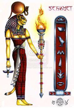 Sekhmet on Pinterest   Egyptian Goddess, Goddesses and Warriors