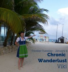 Today's Traveler Tuesday travel blogger is Viki of Chronic Wanderlust.  After a being a exchange student in South American, this Austrian caught the wander bug and has never looked back.  Come learn more about Viki's adventures in her interview on Misadventures with Andi!