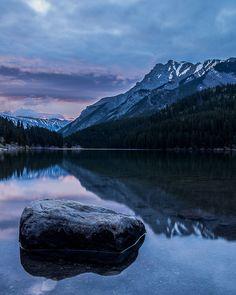 Two Jack Lake, Banff, Alberta, Canada via Tumblr (woodendreams)