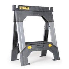 Dewalt Adjustable Metal Legs Folding Sawhorse Tools Work