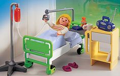 playmobil Hospital Room 4405 This Hospital Room is the perfect place to get better! http://www.comparestoreprices.co.uk/action-figures/playmobil-hospital-room-4405.asp