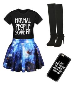 """""""be unique"""" by angela-mccubbin on Polyvore featuring Casetify"""