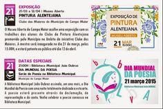 Campomaiornews: Dia Mundial da Poesia e Pintura Alentejana amanhã ...