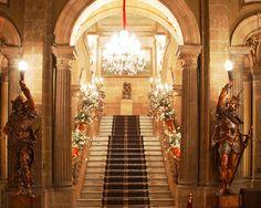 Interior del Casino Espaniol, Ciudad de Mexico