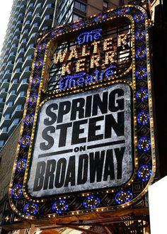 Bruce Springsteen On Broadway Lights