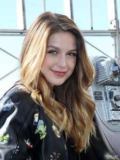 Melissa Benoist: October 26, 2015: Visiting the Empire State Building