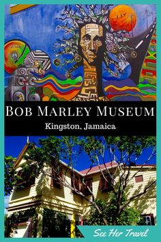 The Bob Marley Museum in Kingston Jamaica will satisfy your need for reggae and rasta while giving you a glimpse into the life of the man and the music. Montego Bay, Negril, Jamaica Vacation, Jamaica Travel, Vacation Spots, Jamaica Jamaica, Barbados, Ocho Rios, Kingston Jamaica