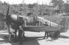 The Germans captured several dozen of Armée de l'Air Curtiss H-75 Hawks during the French campaign in the summer of 1940. Many of those were subsequently donated (or sold) to Finland, later joined by Norwegian examples up to a total of 44 In German Markings