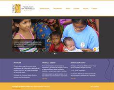 Web para Psicólogos sin fronteras de Asturias ONGD