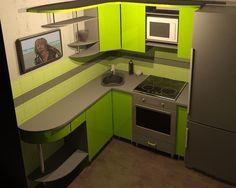дизайн маленькой кухни фото 6 кв.м с холодильником: 26 тыс изображений найдено в Яндекс.Картинках