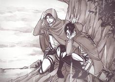 Levi x Hanji Attack On Titan English, Attack On Titan Funny, Attack On Titan Ships, Attack On Titan Anime, Fanarts Anime, Anime Manga, Anime Characters, Mikasa, Funny Yugioh Cards