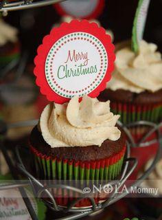 Free Printable cupcake topper