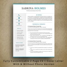 What Does A Professional Resume Look Like Nurse Resume Professional Resume Template  1234 Page Resume .