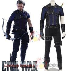 Captain America Civil War Hawkeye cosplay costumes adult superhero Halloween costumes Hawkeye civil war costume Captain America-in Clothing from Novelty & Special Use on Aliexpress.com | Alibaba Group