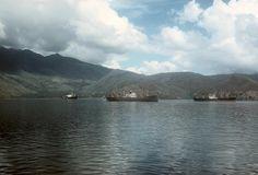 19660625FTB-467  Merchants at anchor  Subic Bay  25 Jun 1966