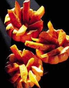 frites de potiron aux épices diaboliques pour 4 personnes - Recettes Elle à Table - Elle à Table