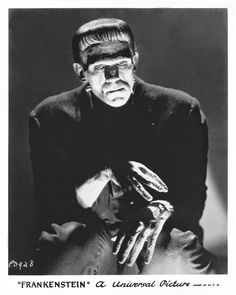 Boris Karloff as The Frankenstein Monster http://classicmoviemonsters.blogspot.com/