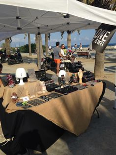 Market at Bogatell beach #august