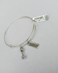 Fitness Bracelet breloque extensible Alex style bracelet avec Kettlebell Running