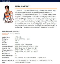 The wait is finally over as Marquez and Pedrosa head to Qatar (Press Release)   Potret Bikers.com