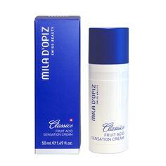 Deze nachtcrème van Mila d'Opiz is superhydratant en antioxidant. Geschikt voor alle huidtypes.