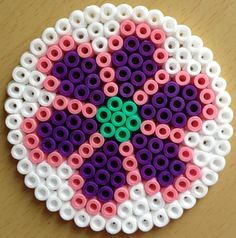 hama beads designs | Other Ideas | Project on Craftsy: Hama beads coaster
