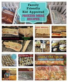 Family Friendly Kid Approved Freezer Meal Recipes From Must Have Mom