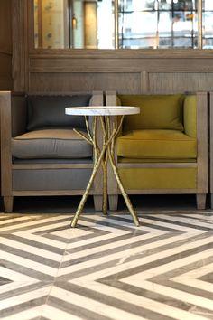Percy & Founders London - groovy floor by Diespeker Ltd