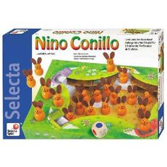 Jeu de société Nino Conillo    Selecta
