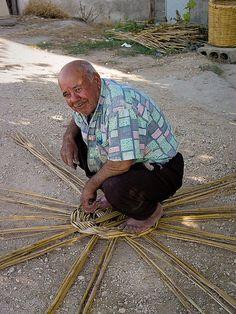 Basket Maker in SE #Turkey