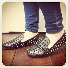 SPIKED LOAFERS ME WANT