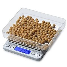 Electric Kitchen Scale Platform with LCD Display Cooking Food Scale Precision Jewelry Scale Weight Balance Jewelry Scale, Gold Jewelry, Weight Scale, Food Scale, Digital Scale, Smoke Shops, No Cook Meals, Get Healthy, Dog Food Recipes