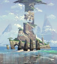 ArtStation - Environment Practice, Harrison yinfaowei