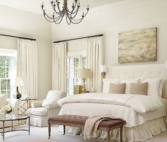 Love the neutral, soothing pallet, sweet dreams!