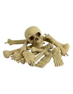 Zak met botten en schedel bij Fun-en-Feest.nl. Online Botten/botjes bestellen…