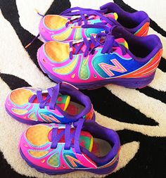 Candy Colored Shoe Cuteness in tiny and bigger sizes are so adorable! U and livi Cute Shoes, Me Too Shoes, Just Keep Walking, Fashion Shoes, Girl Fashion, Cool Style, My Style, Colorful Shoes, Style And Grace