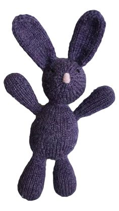 VirkotiePURPLE Bunny Virkotie PURPLE Quality 100% Wool Bunny HANDMADE IN AUSTRALIA @virkotie www.virkotie.com
