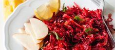 Salade van rode bietjes en appel ♥ Foodness - good food, top products, great health