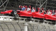 "While I don't feel Formula Rossa is in the ""top 15"" coasters in the world, you can't create a list like this without mentioning the world's fastest roller coaster! Located in Abu Dhabi, Formula Rossa is built at Ferrari World, an entire theme park dedicated to the race cars of the same name. And Formula Rossa lives up to what you would expect from a park like this. Formula Rossa launches to speeds of 149 mph in 4 seconds -- you can feel every bit of that launch speed through your body! It's…"