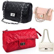 Women Classic Clutch Shoulder Bag Handbag Quilting Chain Cross Body