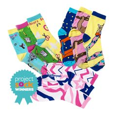 From frilly to zany, shop the LittleMissMatched collection of fun ankle socks. Find fun prints like owls, zebra stripes and neon ankle socks. Funky Socks, Girls Socks, Ankle Socks, Fun Prints, Tween, Stripes, Check, Projects, Shopping
