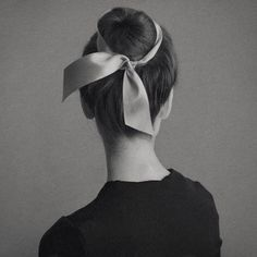 I wear my hair this way Inspo Cheveux, Ribbon Hairstyle, Hairstyles With Ribbon, Updo Hairstyle, Ponytail Hairstyles, Ballet Hairstyles, Hair Day, Trendy Hairstyles, Wedding Hairstyles