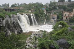 El Salto en Juanacatlán. The first falls on the Rio Santiago south of lake Chapala