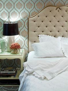 "Answer to ""Decorate This Space: Pick the Right Headboard"" From HGTV's Design Happens Blog (http://blog.hgtv.com/design/2013/02/14/answer-to-decorate-this-space-pick-the-right-headboard/?soc=pinterest)"