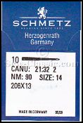 Needles Schmetz 206x13 size 12 - 10 pack